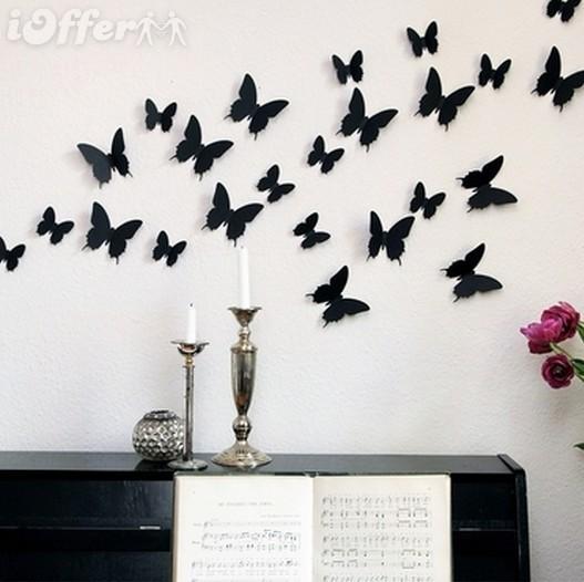 50 farfalle monarch bomboniere matrimonio torta nuziale for Amazon decoracion pared